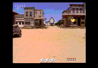 Mad Dog McCree SEGA CD Shootout on the way to the saloon