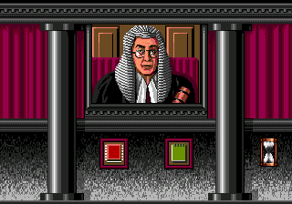 Sherlock Holmes: Consulting Detective SEGA CD When you think you have gathered enough evidence in the case, take it to the judge