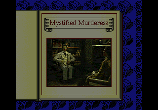 Sherlock Holmes: Consulting Detective SEGA CD Intro exposition for the case of the Mystified Murderess