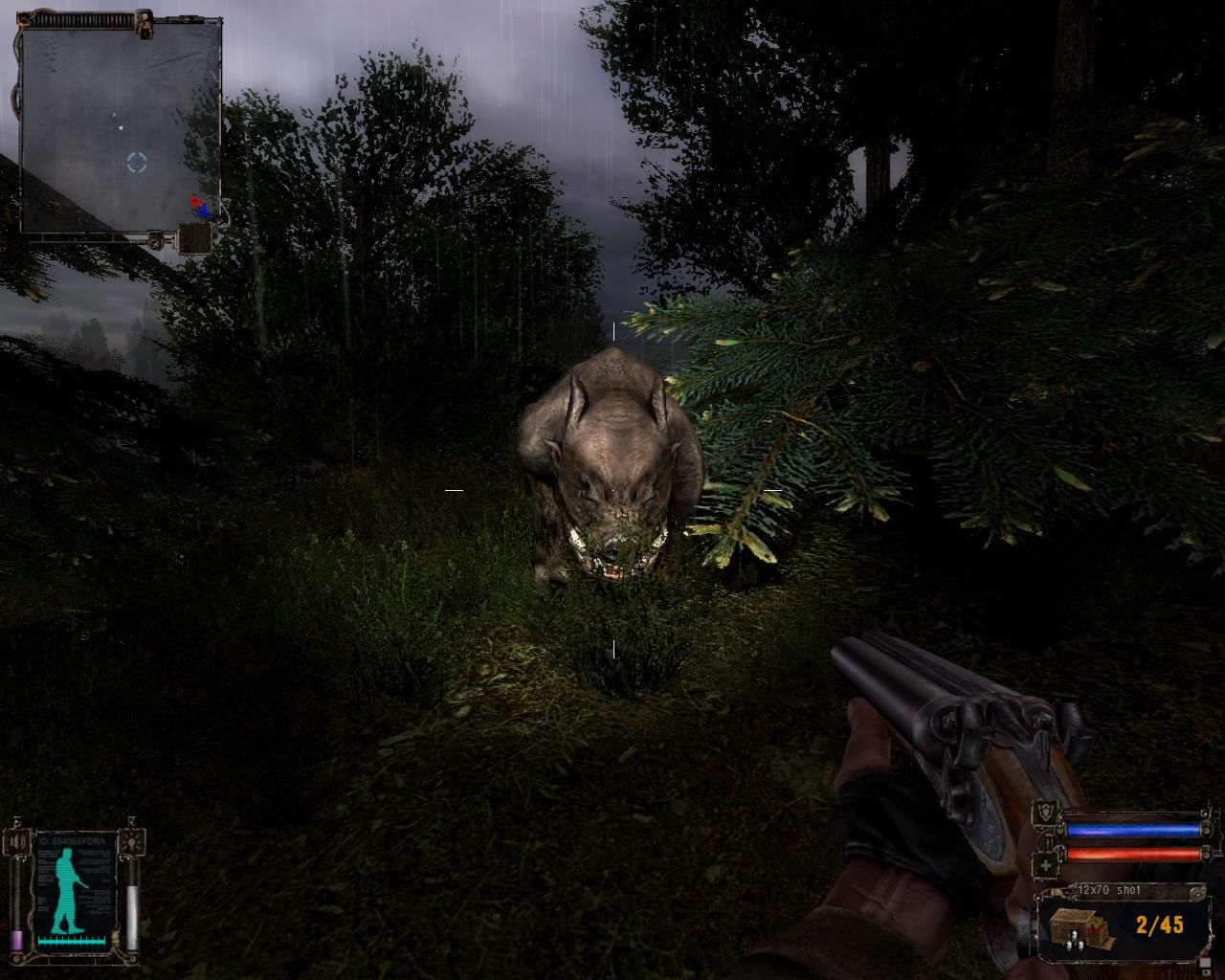 S.T.A.L.K.E.R.: Shadow of Chernobyl Windows Hunting for mutated boars.