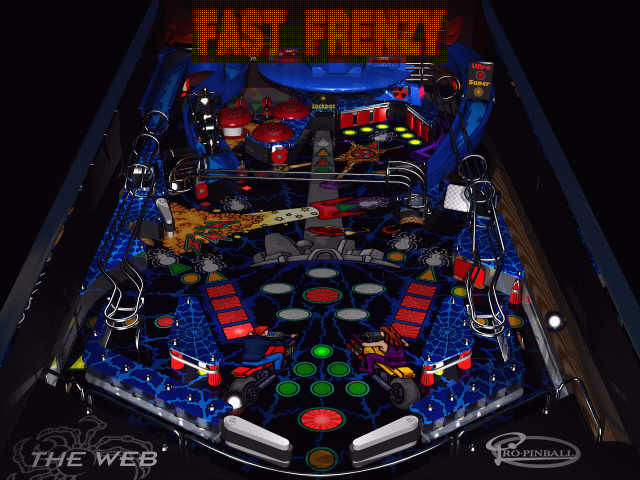 Pro Pinball: The Web DOS Fast Frenzy with 3 balls