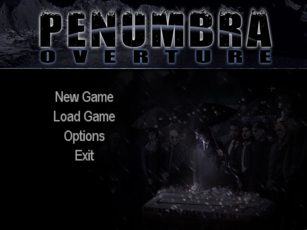 Penumbra: Overture - Episode 1 Windows Main game screen