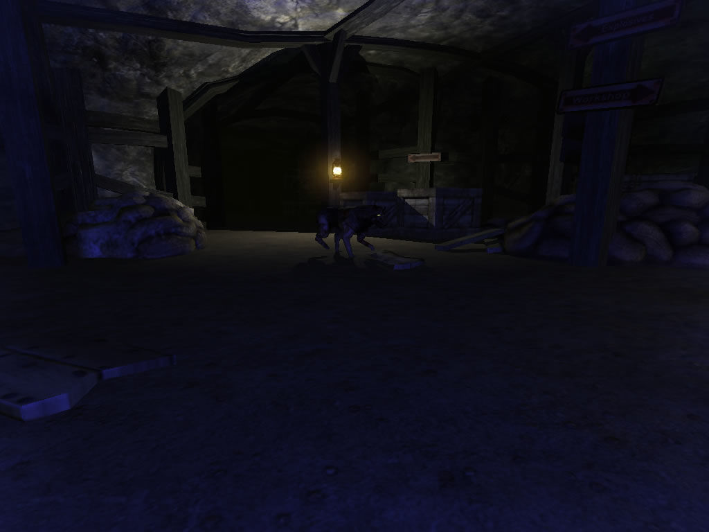 Penumbra: Overture - Episode 1 Windows Never let the wolves see you.