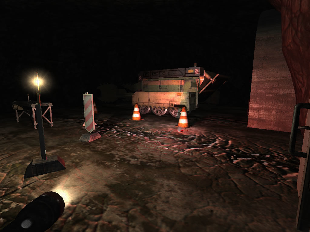 Penumbra: Overture - Episode 1 Windows This bulldozer will come in handy.