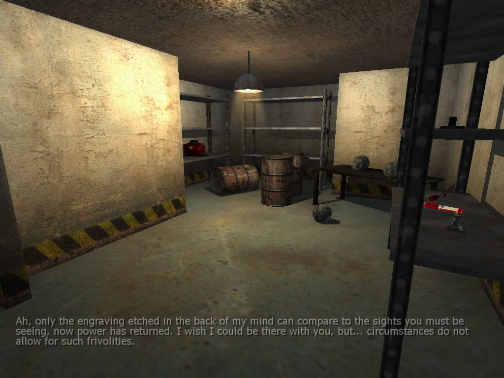 Penumbra: Overture - Episode 1 Windows All objects in this room will be needed to solve various puzzles.