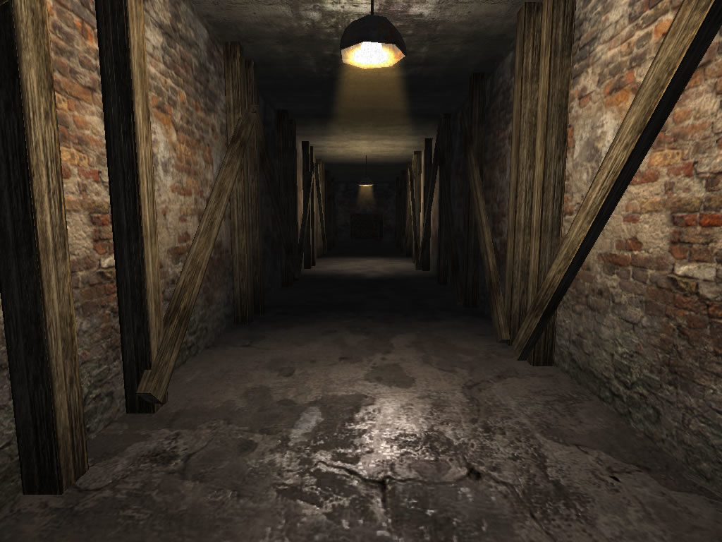 Penumbra: Overture - Episode 1 Windows A spooky corridor