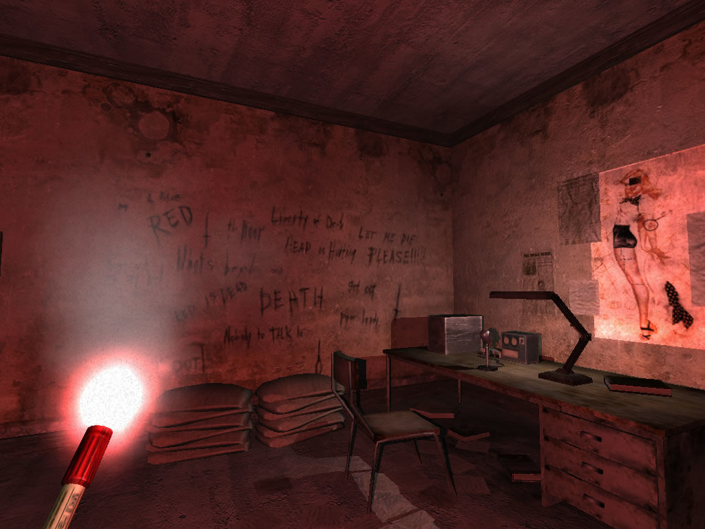 Penumbra: Overture - Episode 1 Windows The writings on the wall aren't very encouraging.