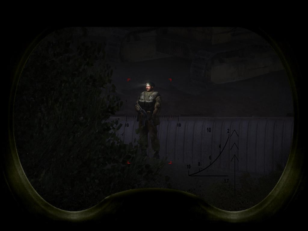 S.T.A.L.K.E.R.: Shadow of Chernobyl Windows You can use the binoculars to assess threats before they assess you.