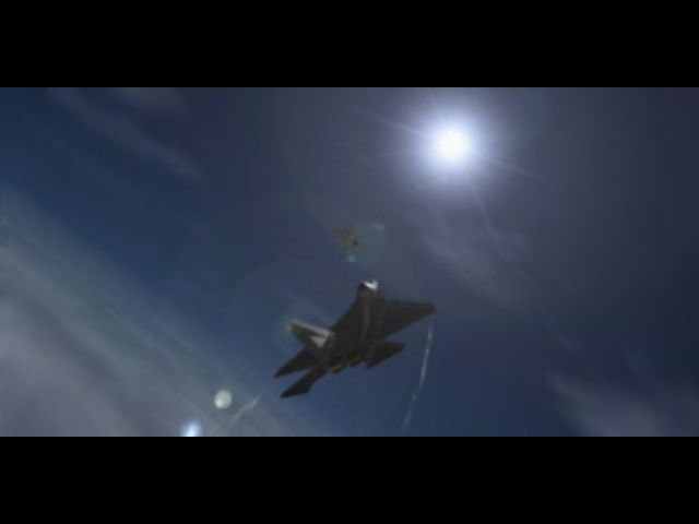 Ace Combat 2 PlayStation Scene from the intro