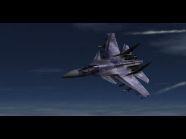 Ace Combat 2 PlayStation Another intro shot