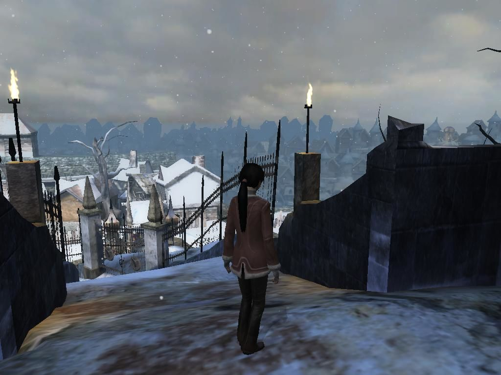 Dreamfall: The Longest Journey Windows You'll be treated to some very nice views.