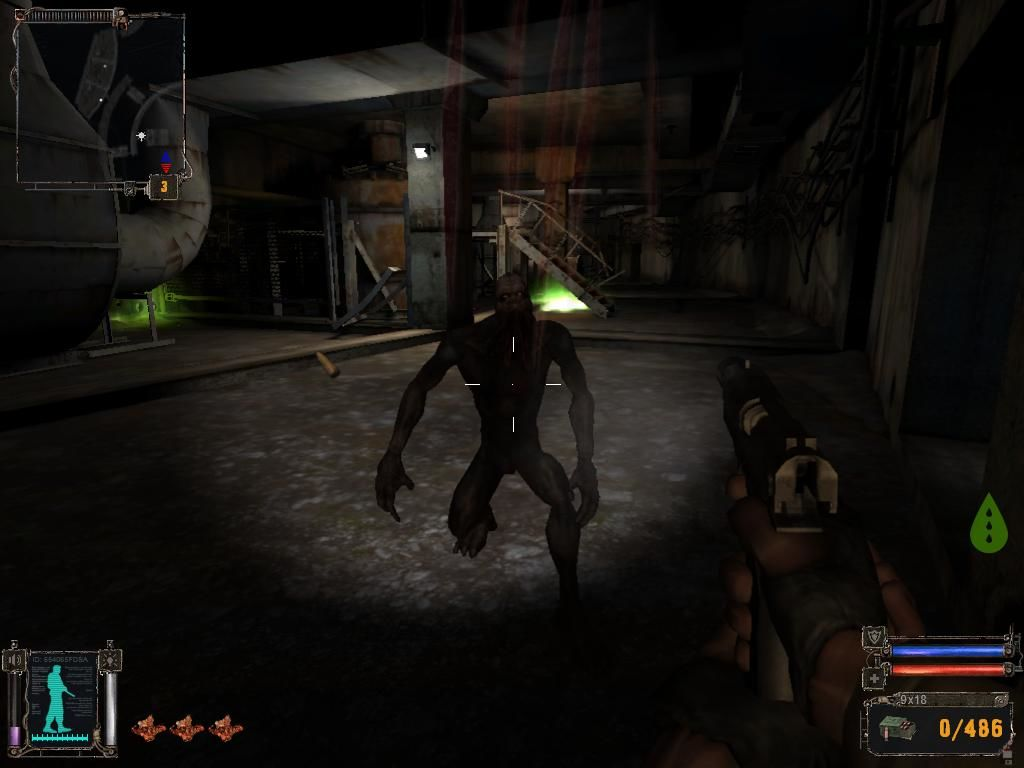 S.T.A.L.K.E.R.: Shadow of Chernobyl Windows Mutant in underground facility