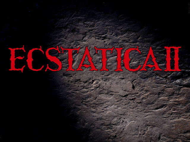 Ecstatica II DOS Another title screen
