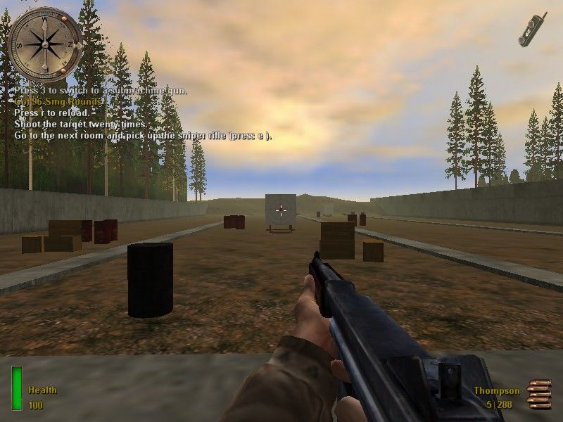 Medal of Honor: Allied Assault Windows ...the sub-machinegun...