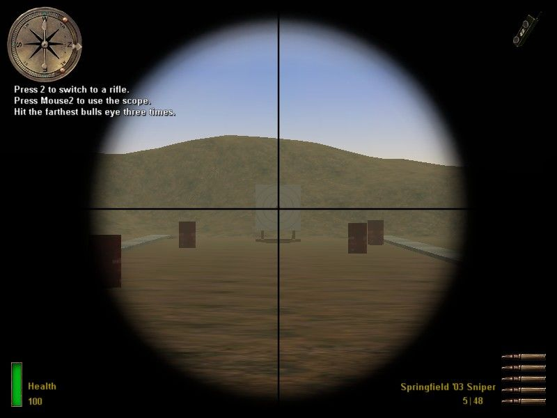 Medal of Honor: Allied Assault Windows ... the sniper rifle...
