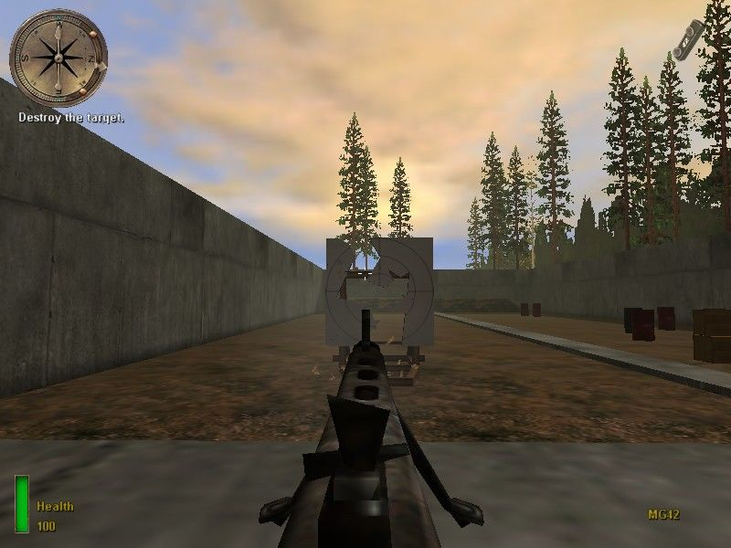 Medal of Honor: Allied Assault Windows ... and the machine gun :)