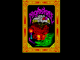 Nightshade ZX Spectrum Loading picture
