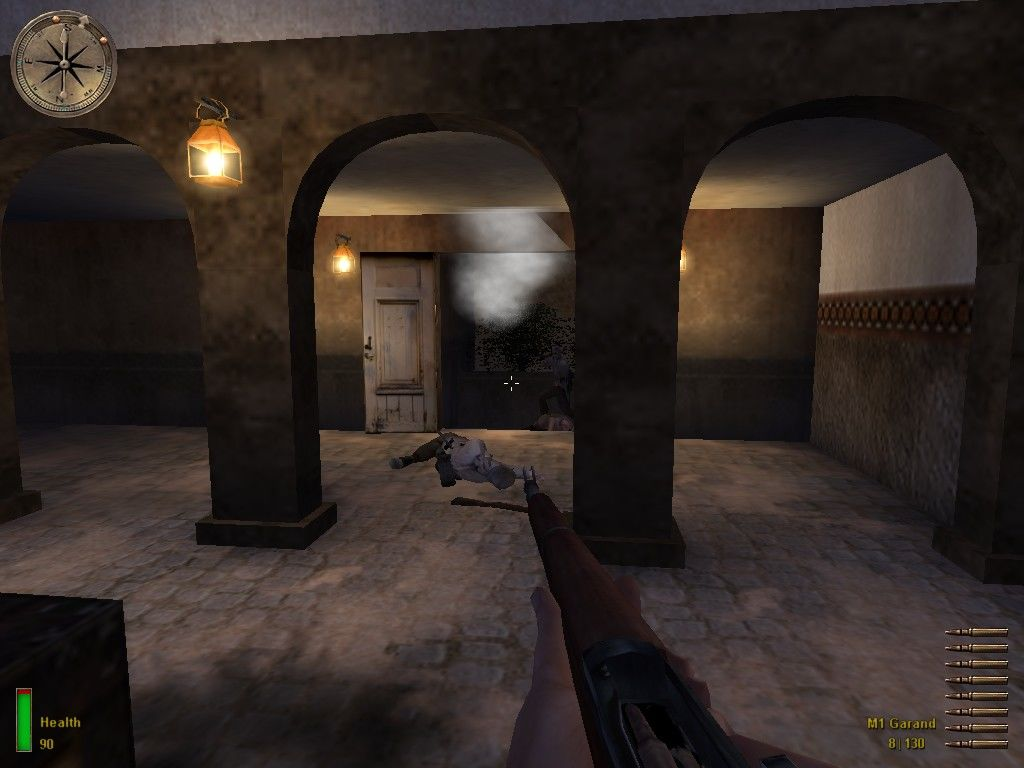 Medal of Honor: Allied Assault Windows A surprise behind the door