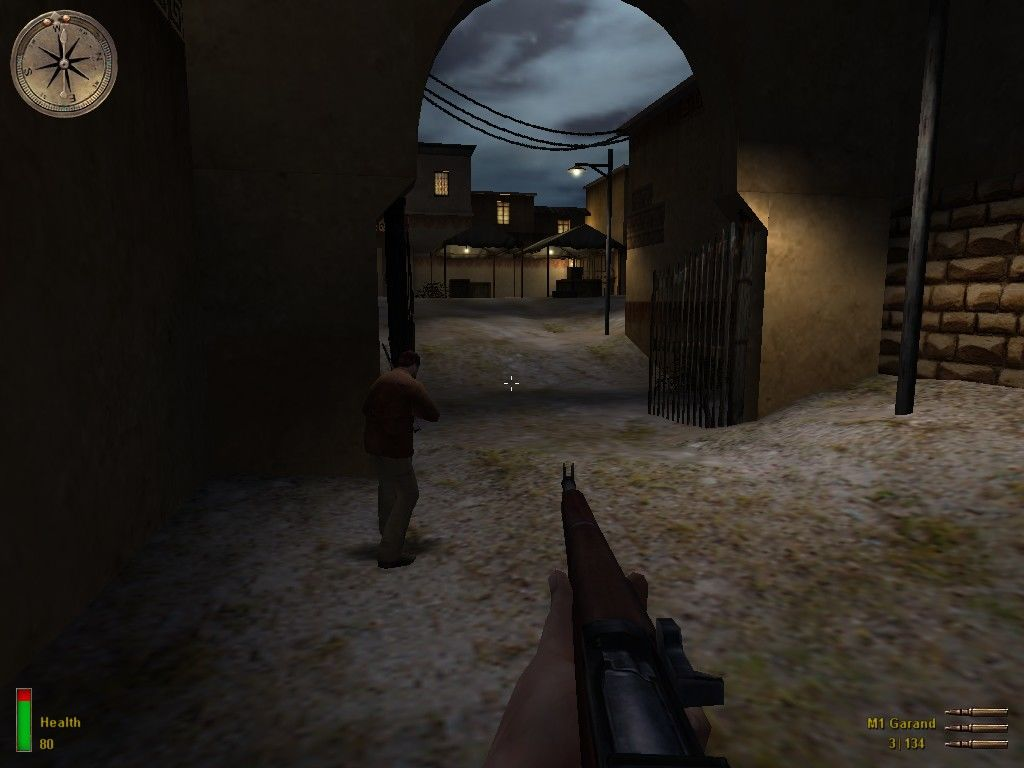 Medal of Honor: Allied Assault Windows Trying to escape