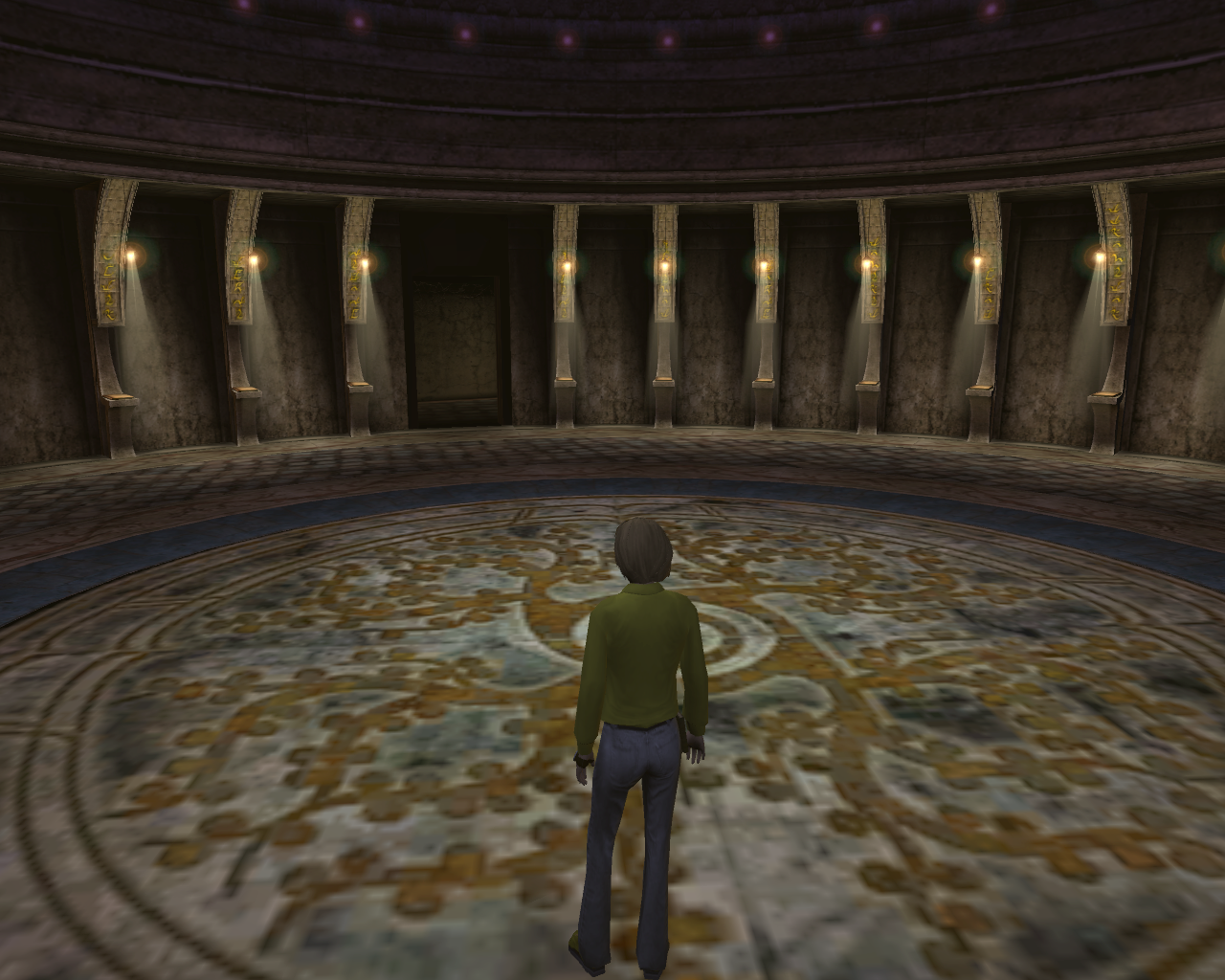 Myst Online: Uru Live Windows Books in the Hall of Kings provide a history of D'ni