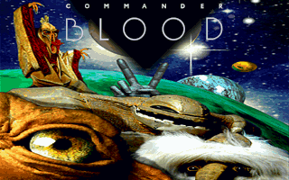 Big Bug Bang: Le Retour de Commander Blood DOS Title screen