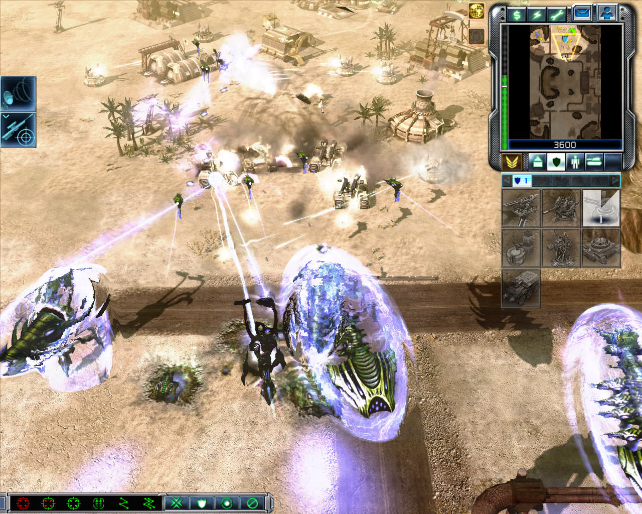 Command & Conquer 3: Tiberium Wars Windows My base is under attack by Scrin forces (Multiplayer mode).