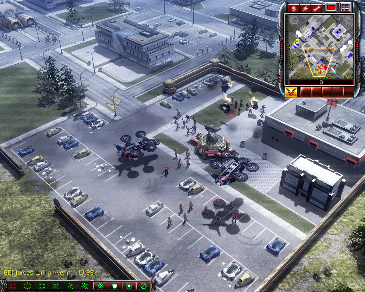 Command & Conquer 3: Tiberium Wars Windows The reinforcements have arrived.