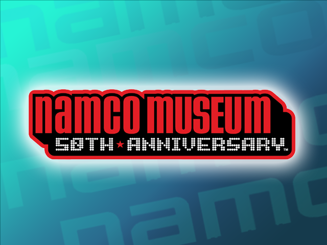 Namco Museum 50th Anniversary Windows Title screen