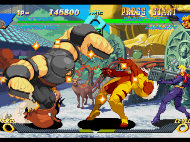 Men Vs Street Fighter PC Portable