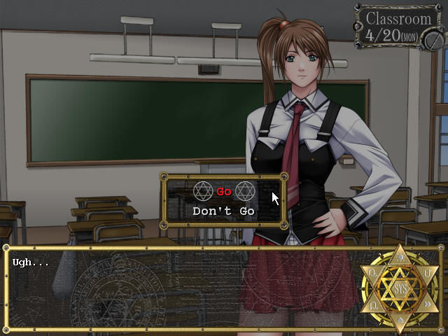 Bible Black: The Game Windows Decision time