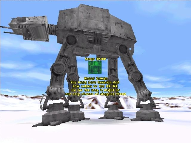 Star Wars: Shadows of the Empire Windows AT-AT