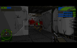 Last Rites DOS Shotgun in Last Rites is even more violent weapon, than in Doom.