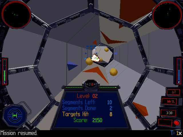 Star Wars: TIE Fighter - Collector's CD-ROM DOS The collector's edition has 640x480 resolution support