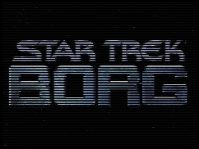 Star Trek: Borg Windows Title screen