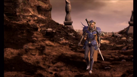 "Final Fantasy PSP ""New"" CG intro"