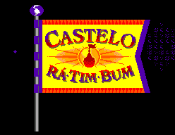 Castelo Rá-Tim-Bum SEGA Master System Title screen
