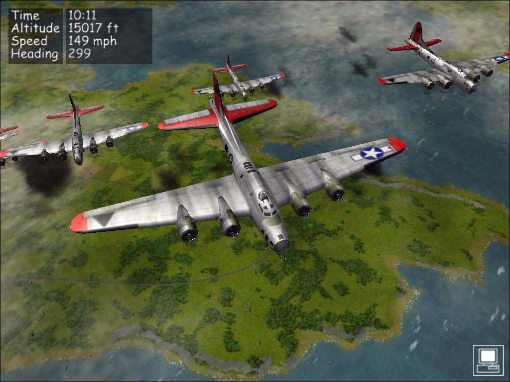 B 17 Flying Fortrees ( 587mb ) | Bagi2 Game Gratis