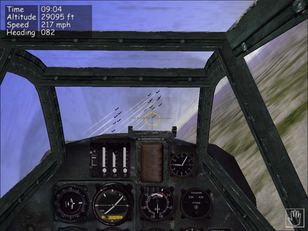 B-17 Flying Fortress: The Mighty 8th Windows Cockpit view