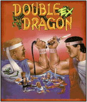 Double Dragon EX J2ME Title screen