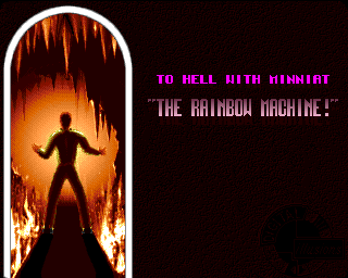 "Benefactor Amiga ""To Hell With Minniat"" level - loading screen"