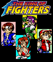 The King of Fighters J2ME Title screen