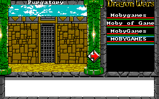Dragon Wars Amiga Building