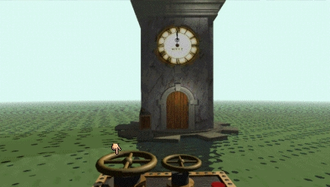 Myst PSP Clock tower puzzle controls