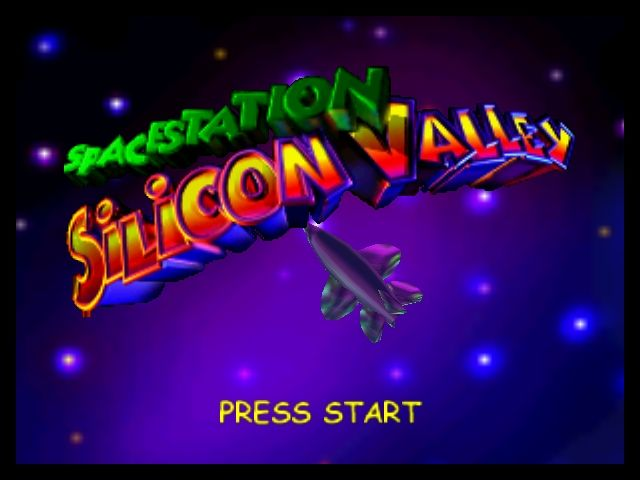 Space Station Silicon Valley Nintendo 64 Title Screen