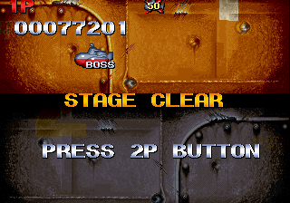 In the Hunt SEGA Saturn Stage clear.