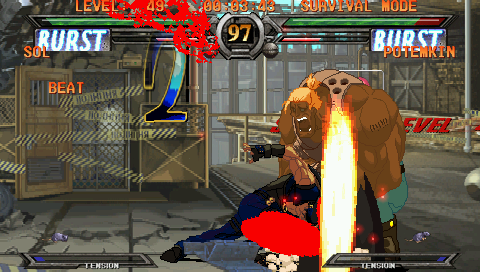 Guilty Gear XX #Reload Screenshots for PSP - MobyGames