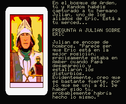 Nine Princes in Amber MSX Julian