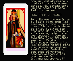 Nine Princes in Amber MSX Deirdre