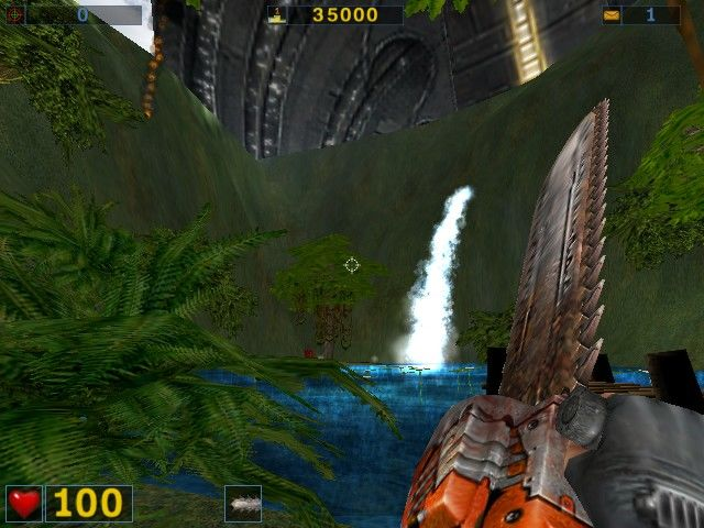 Serious Sam: The Second Encounter Windows Chainsaw :)