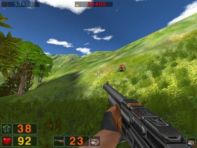 Serious Sam: The Second Encounter Windows A raging bull